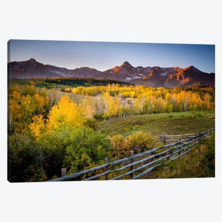 Country Morning Canvas Print #11558} by Dan Ballard Canvas Art Print