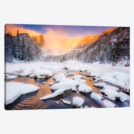Dream of Fire Canvas Print #11562} by Dan Ballard Canvas Wall Art