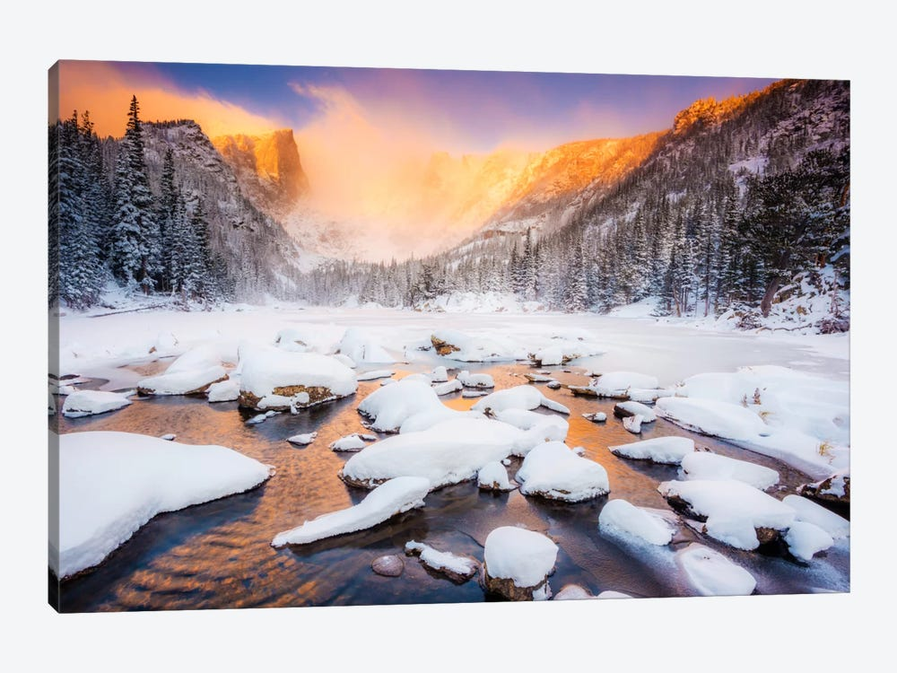 Dream of Fire by Dan Ballard 1-piece Canvas Wall Art