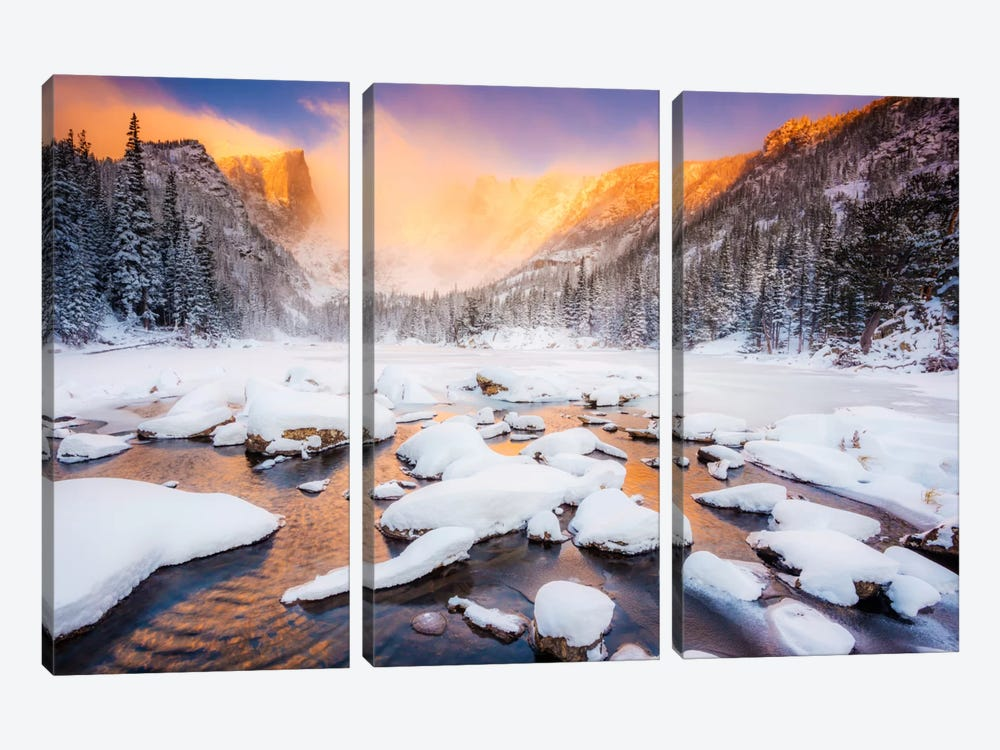 Dream of Fire by Dan Ballard 3-piece Canvas Art