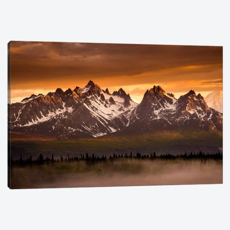 Devils Horns 3-Piece Canvas #11563} by Dan Ballard Canvas Artwork