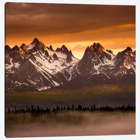 Devils Horns #2 Canvas Print #11563B} by Dan Ballard Art Print
