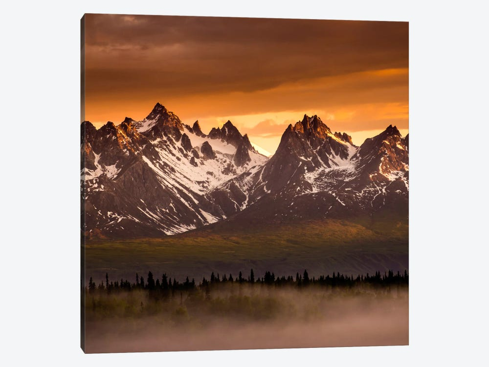 Devils Horns #2 by Dan Ballard 1-piece Canvas Art