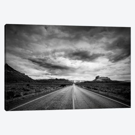 Long Stretch of Road Canvas Print #11565} by Dan Ballard Art Print