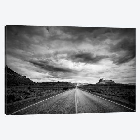 Long Stretch of Road Canvas Print #11565} by Dan Ballard Art Print