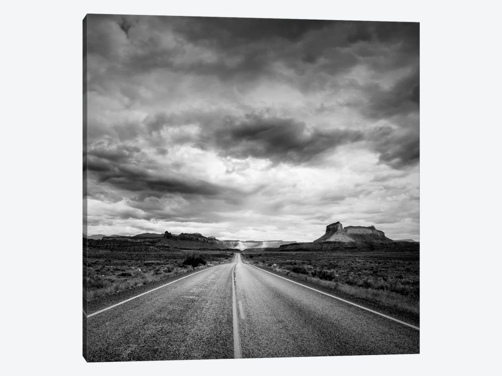 Long Stretch of Road #2 1-piece Canvas Wall Art