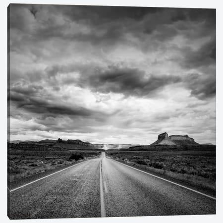 Long Stretch of Road #2 Canvas Print #11565B} by Dan Ballard Art Print