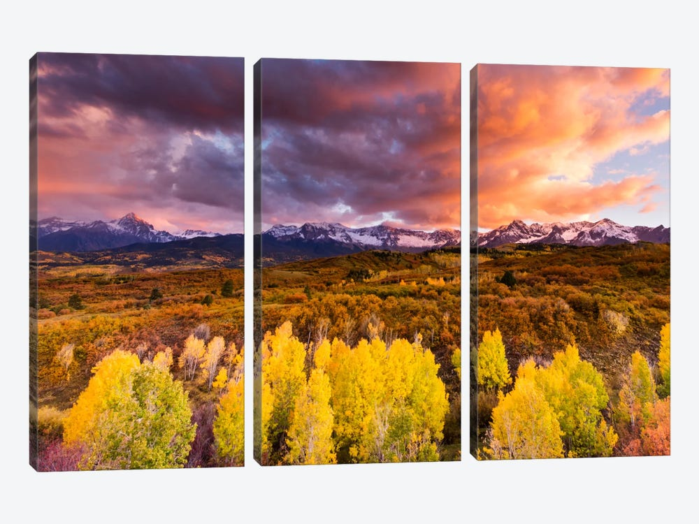 Epic Fall 3-piece Canvas Artwork