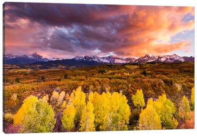 Epic Fall Canvas Art Print