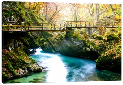 Europe in Fall Canvas Art Print