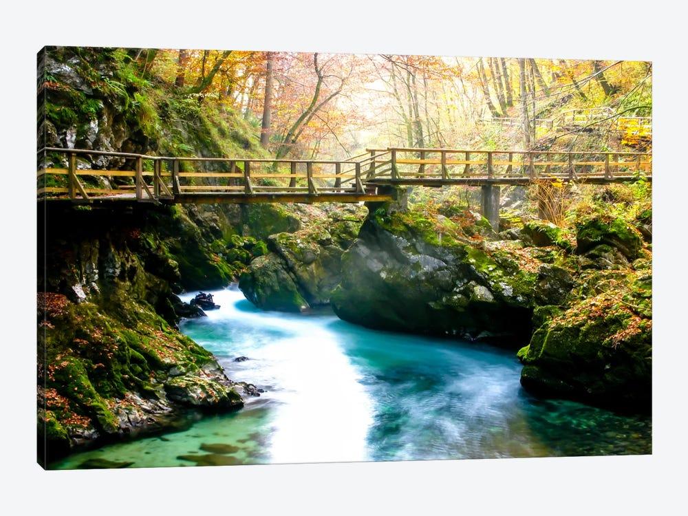 Europe in Fall by Dan Ballard 1-piece Canvas Art Print