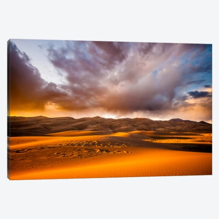 Expanding Motion Canvas Print #11568} by Dan Ballard Canvas Art