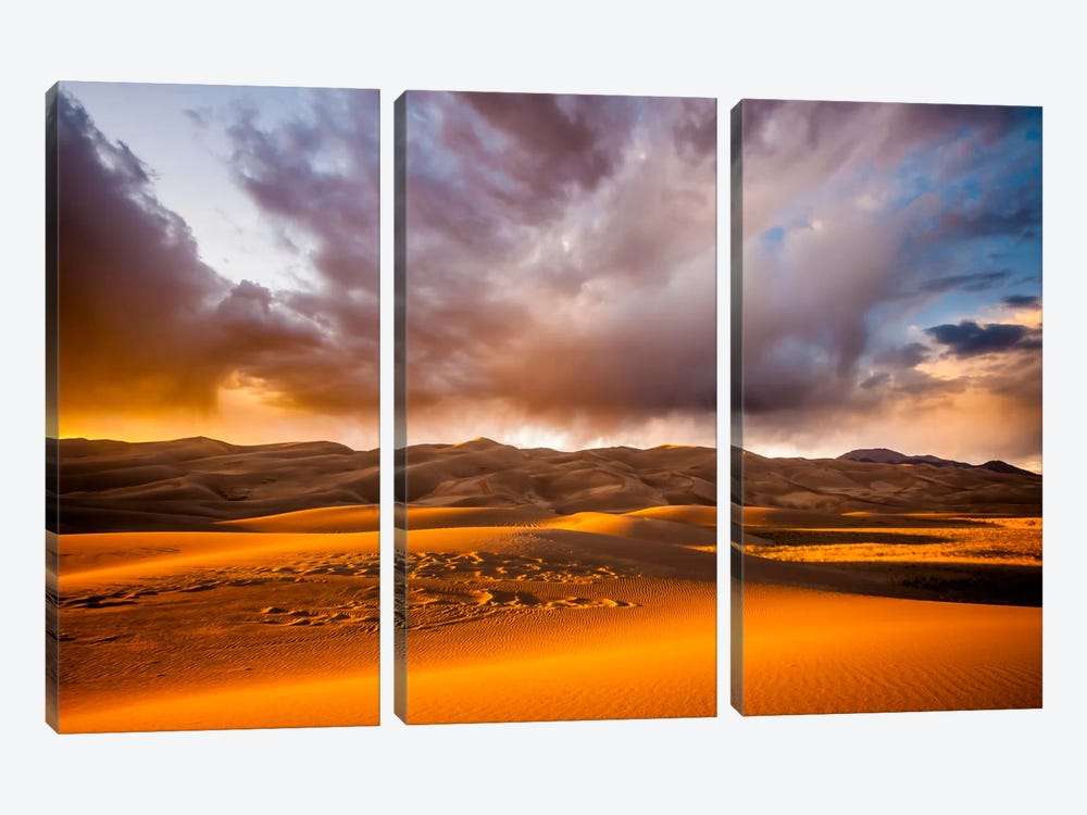 Expanding Motion by Dan Ballard 3-piece Canvas Wall Art