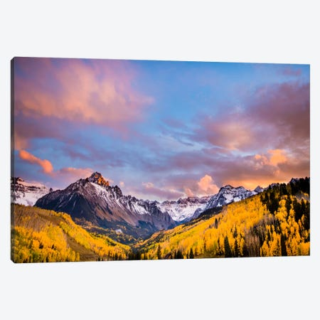 Fall Valley Canvas Print #11573} by Dan Ballard Canvas Print