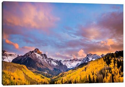 Fall Valley Canvas Art Print