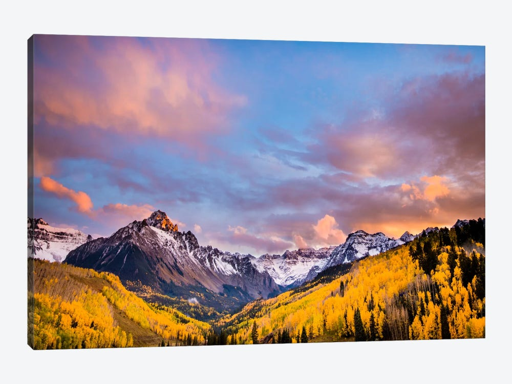 Fall Valley 1-piece Canvas Artwork