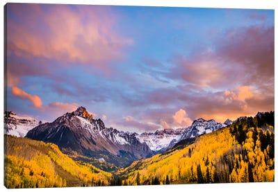 Fall Valley Canvas Art Print