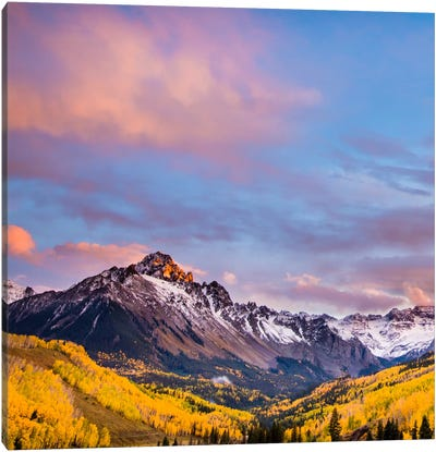 Fall Valley #2 Canvas Art Print