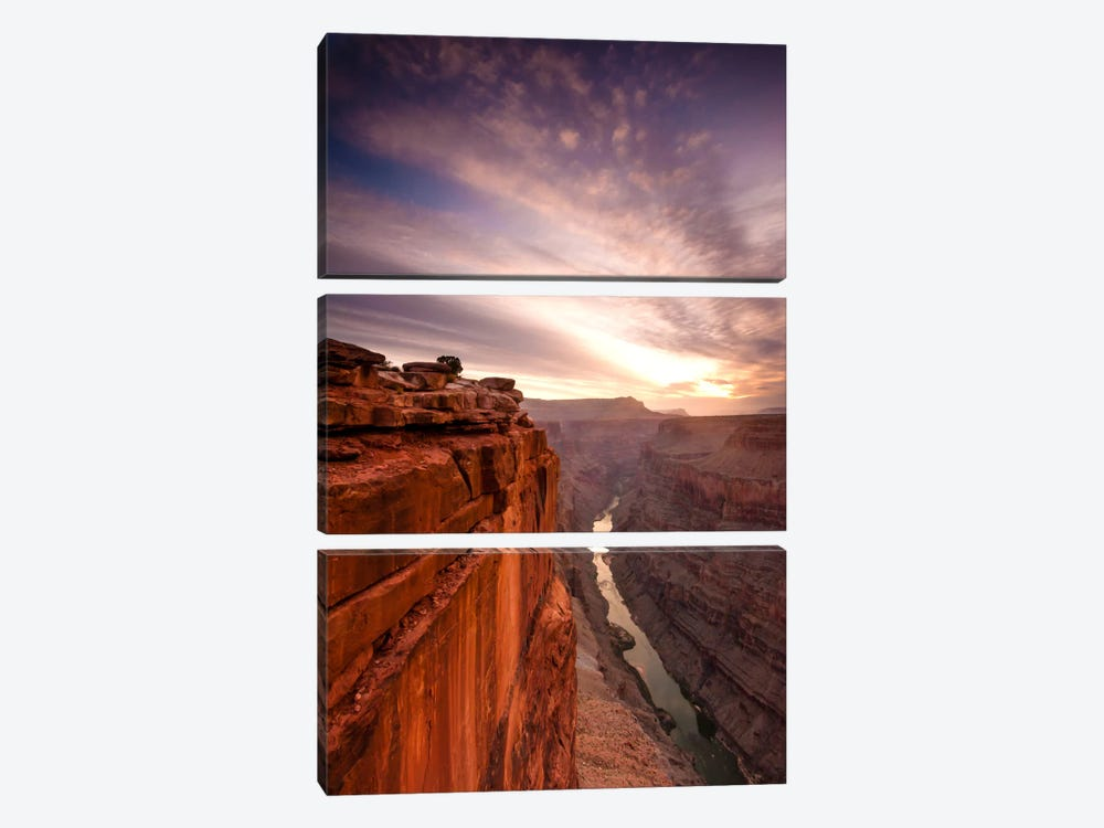 Grand Canyon by Dan Ballard 3-piece Canvas Art