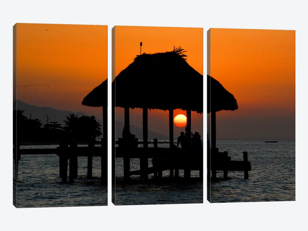 Island Sun by Dan Ballard 3-piece Canvas Wall Art
