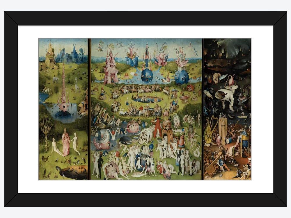 The Garden Of Earthly Delights 1504 Framed