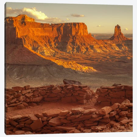Lost Kiva #2 Canvas Print #11580B} by Dan Ballard Canvas Art