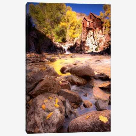 Lost Mill Canvas Print #11582} by Dan Ballard Canvas Art