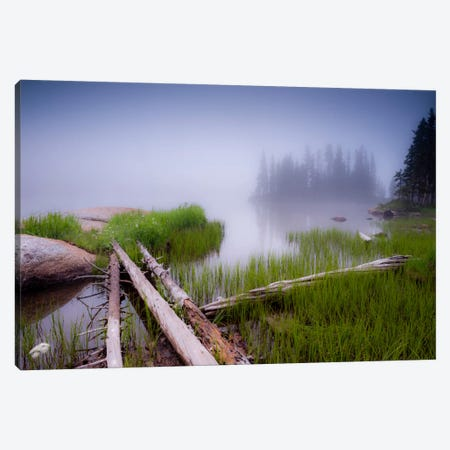 Lower Sand Creek Lake Canvas Print #11583} by Dan Ballard Canvas Wall Art
