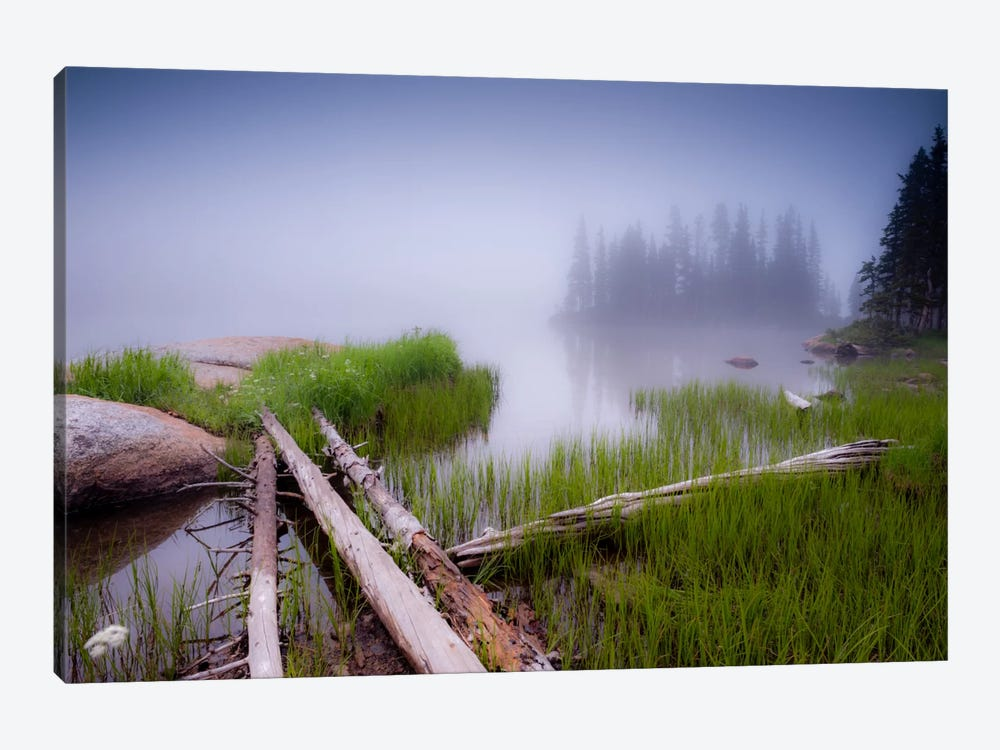 Lower Sand Creek Lake by Dan Ballard 1-piece Canvas Print
