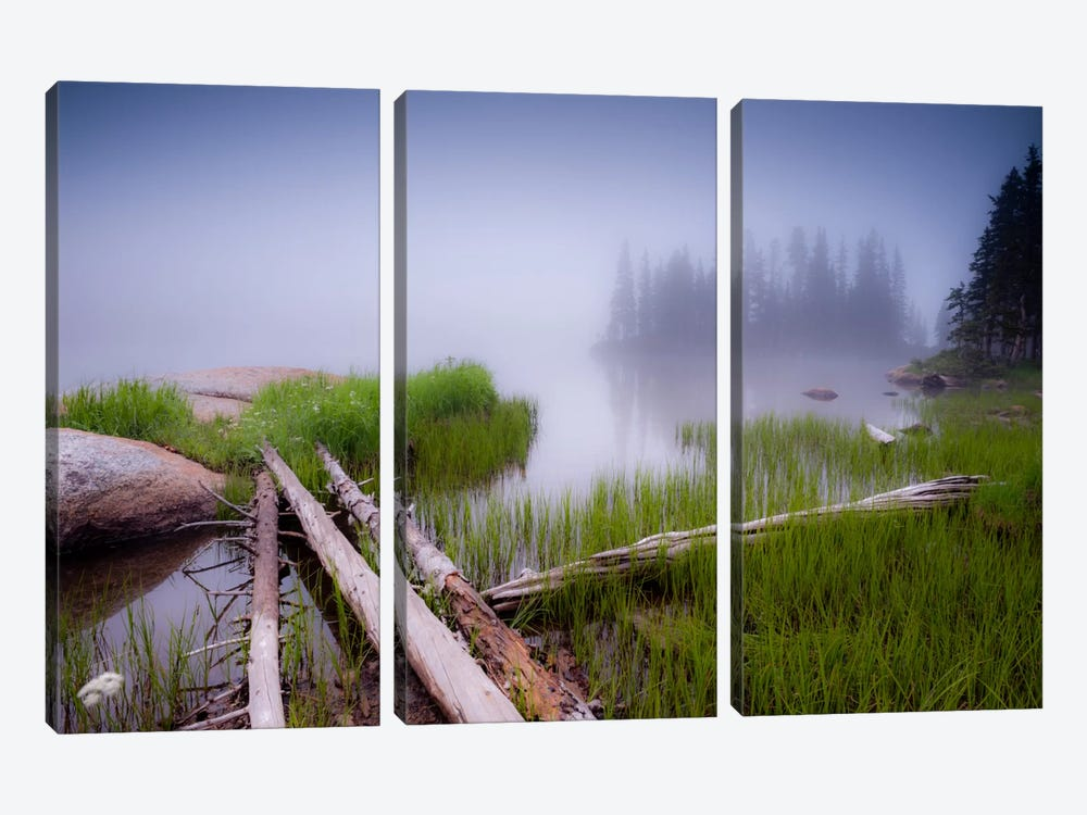 Lower Sand Creek Lake by Dan Ballard 3-piece Art Print