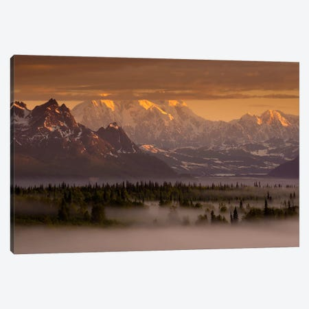 Moods of Denali Canvas Print #11585} by Dan Ballard Art Print