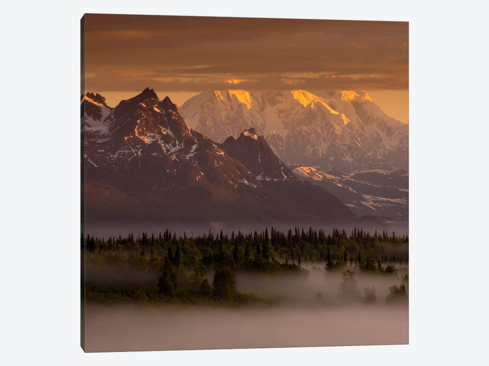 Moods of Denali #2 by Dan Ballard 1-piece Canvas Art Print