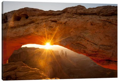 Mesa Arch Beauty Canvas Art Print