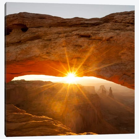 Mesa Arch Beauty #2 3-Piece Canvas #11587B} by Dan Ballard Canvas Art Print