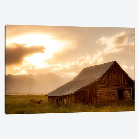 Mountain Home Canvas Print #11589} by Dan Ballard Canvas Wall Art