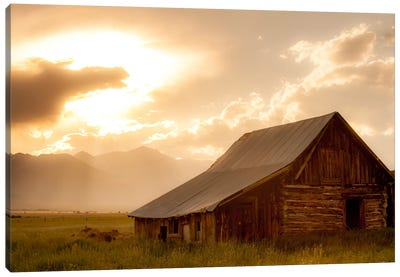 Mountain Home Canvas Art Print