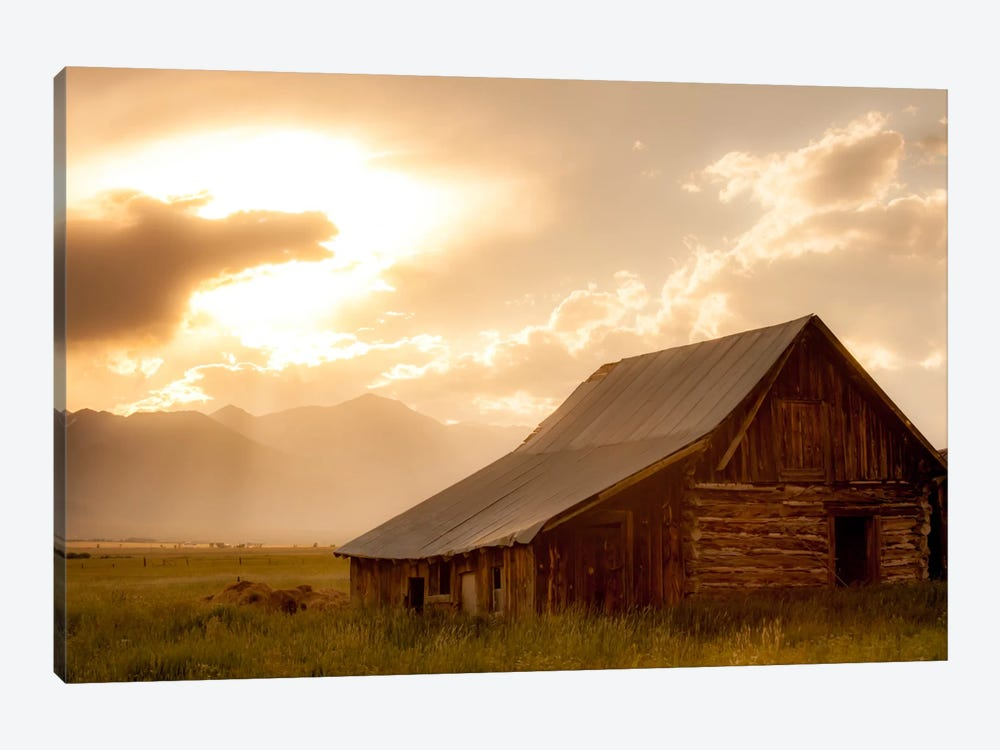 Mountain Home by Dan Ballard 1-piece Canvas Print