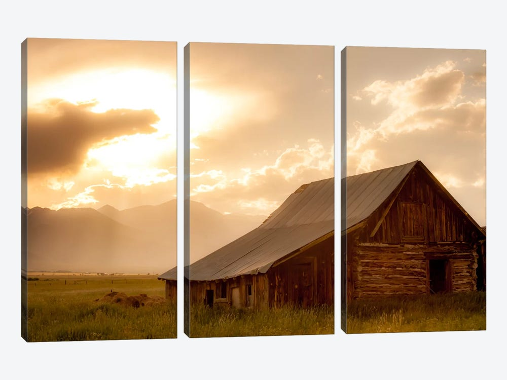 Mountain Home by Dan Ballard 3-piece Canvas Art Print