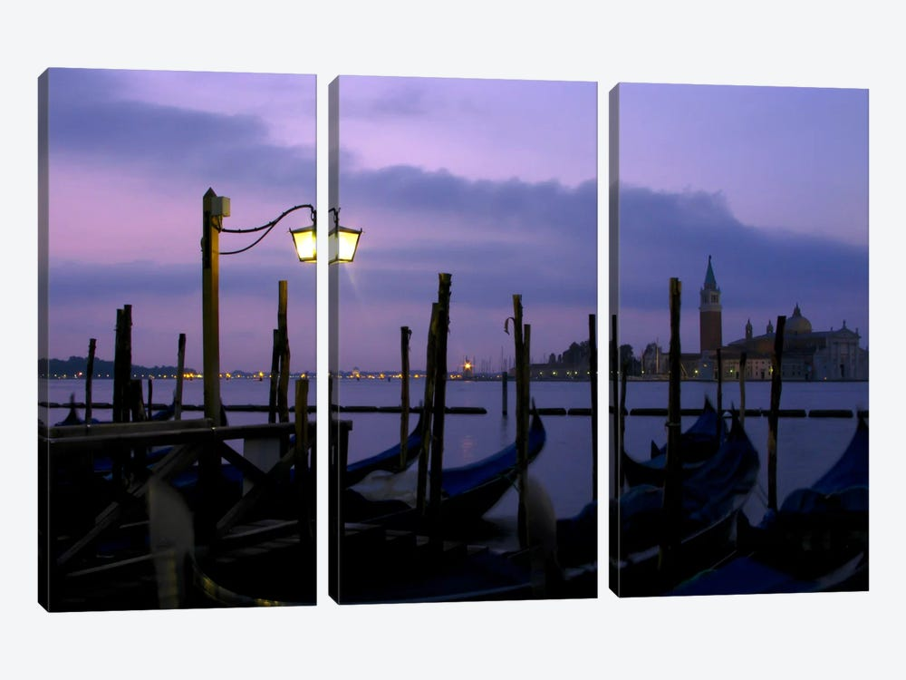 Nights of Italy 3-piece Canvas Print