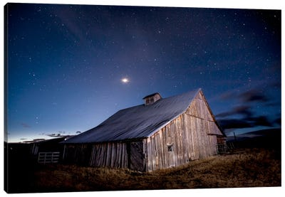 Painted Barn Canvas Print #11593