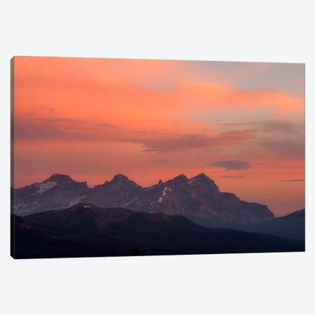Painted Morning Canvas Print #11594} by Dan Ballard Canvas Wall Art
