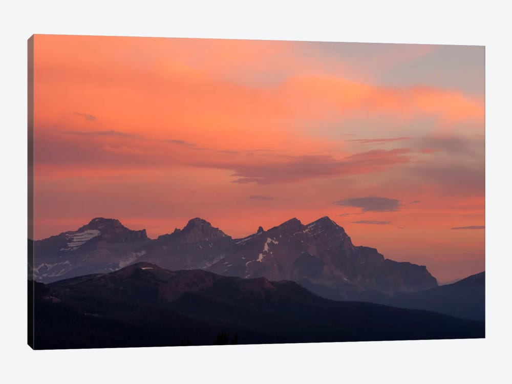 Painted Morning by Dan Ballard 1-piece Canvas Art Print