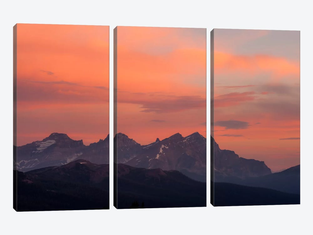 Painted Morning by Dan Ballard 3-piece Canvas Print