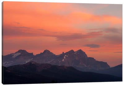 Painted Morning Canvas Art Print