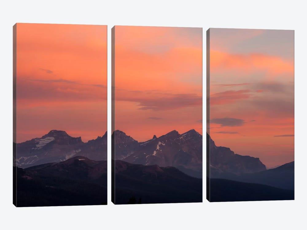 Painted Morning by Dan Ballard 3-piece Canvas Print