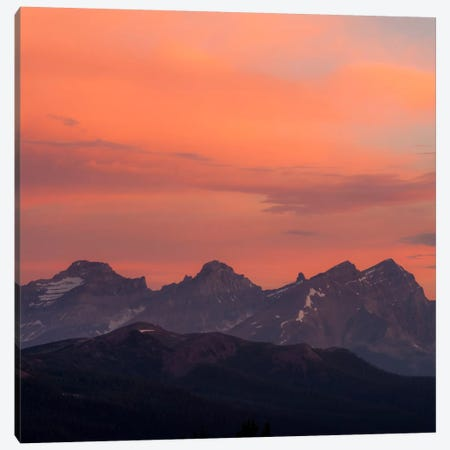 Painted Morning #2 Canvas Print #11594B} by Dan Ballard Canvas Print