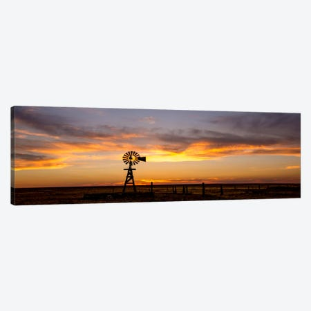 Plains Windmill Canvas Print #11597} by Dan Ballard Canvas Wall Art