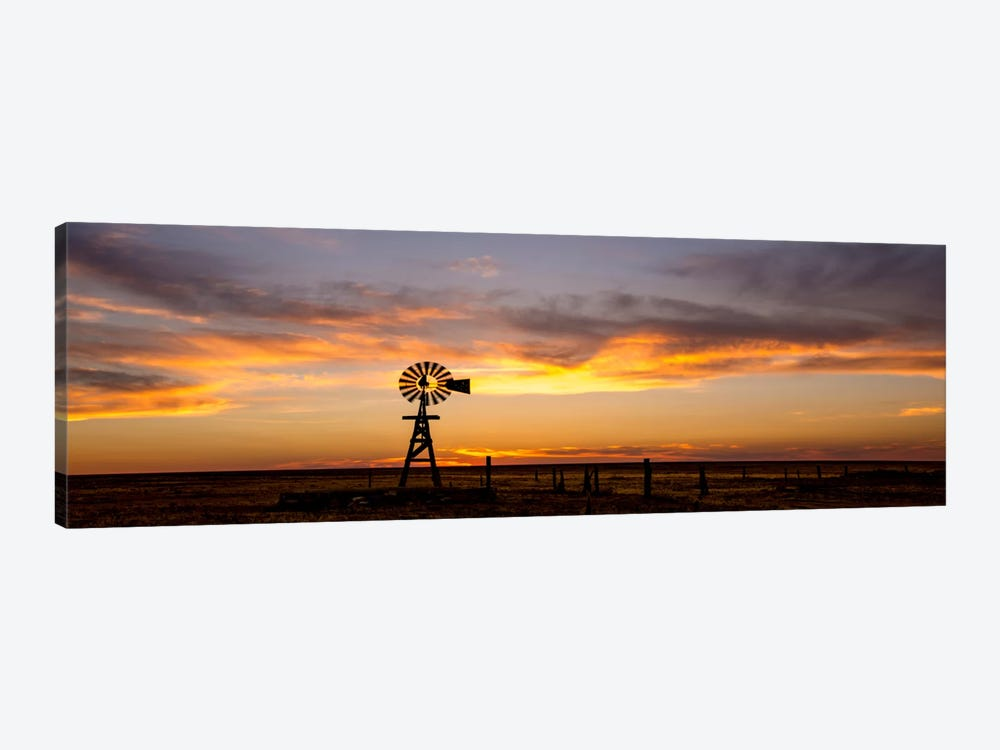 Plains Windmill by Dan Ballard 1-piece Canvas Wall Art