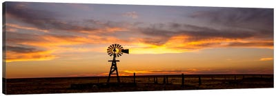 Plains Windmill Canvas Art Print