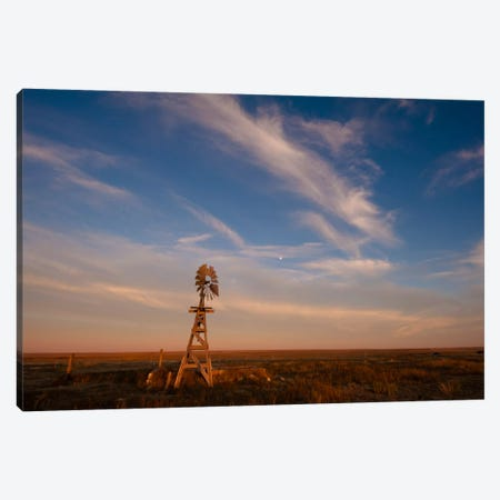Prarie Glow Canvas Print #11598} by Dan Ballard Art Print